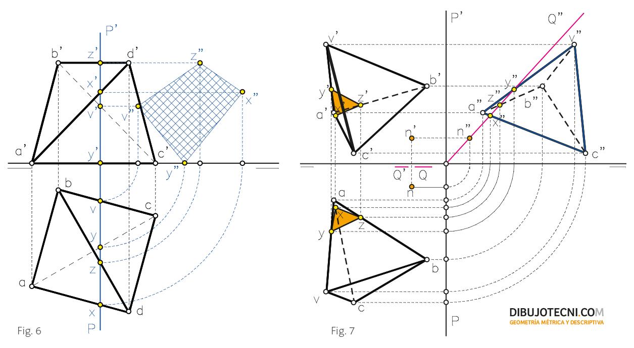 Poliedros regulares dibujo t cnico for Plano de planta dibujo tecnico